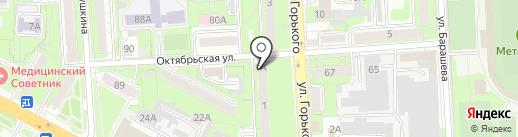 Ладья на карте Липецка