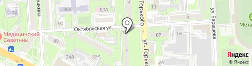 Economstom на карте Липецка