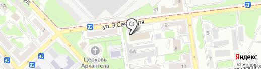 Комиссионный магазин офисной мебели на карте Липецка