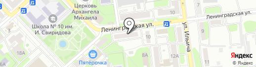 Триколор ТВ на карте Липецка