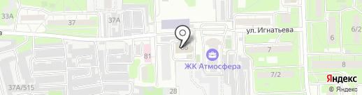На Слободе на карте Липецка