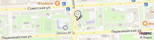 48 на карте Липецка