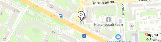 Позитив на карте Липецка