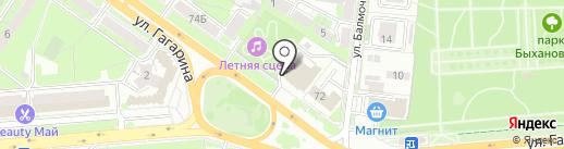 Липецкий государственный театр кукол на карте Липецка