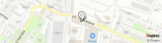 Росгосстрах, ПАО на карте Липецка