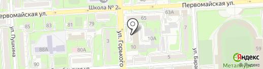 ЛипОйл-сервис на карте Липецка