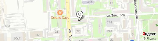 РВЦ-Информ на карте Липецка