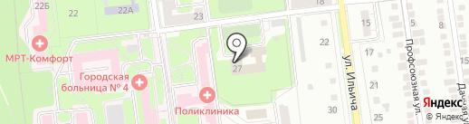 Детский дом для детей-сирот и детей на карте Липецка