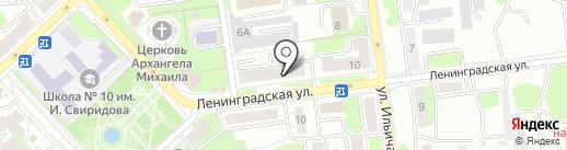 Заправка на карте Липецка