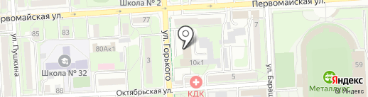 most.tv на карте Липецка