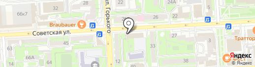 Национальный центр занятости на карте Липецка