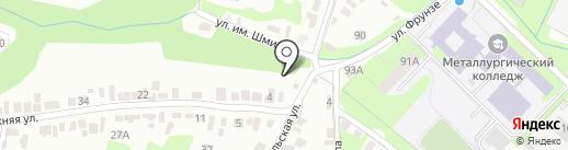 Бункер на карте Липецка