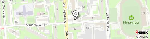 Домотехника на карте Липецка