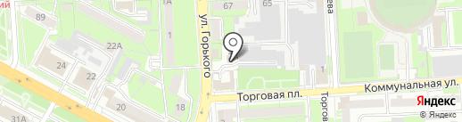 Академия детства на карте Липецка