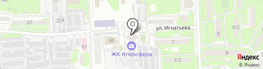 Игнатьева 33, ТСЖ на карте Липецка