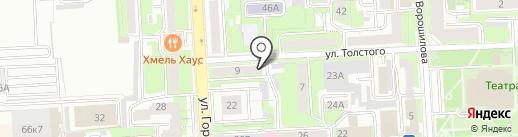 Центр охраны труда Липецкой области на карте Липецка