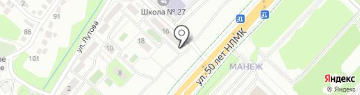 Под капотом на карте Липецка