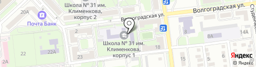Витязи на карте Липецка