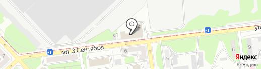 Похоронная служба на карте Липецка