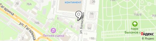 Мойдодыры и Красивая плитка на карте Липецка