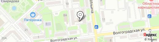 Пятерочка на карте Липецка