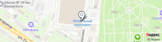 Nobilia на карте Липецка
