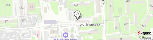 ЕРЦ на карте Липецка
