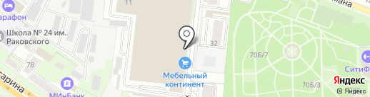 Графская кухня на карте Липецка