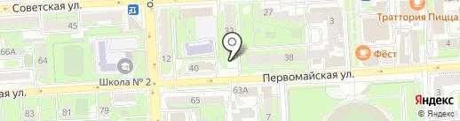Единый Визовый Центр на карте Липецка
