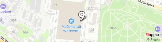 ЭНЛИ на карте Липецка