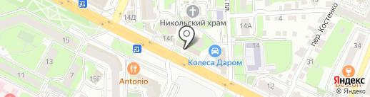 ГЛАВОФИСТОРГ на карте Липецка