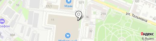 Во все тяжкие на карте Липецка