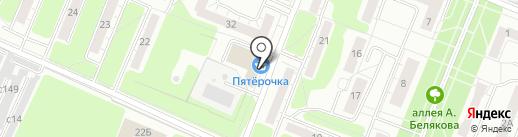 Областная детско-юношеская автошкола на карте Рязани