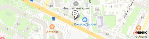 Проектно-монтажная фирма на карте Липецка
