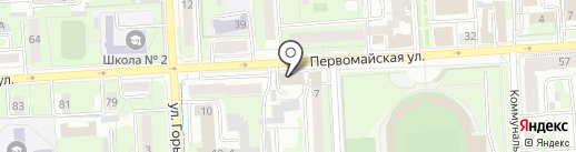 Управление Судебного департамента в Липецкой области на карте Липецка