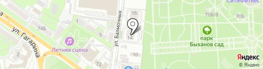 Проектная фирма Екатерины Гулевской на карте Липецка