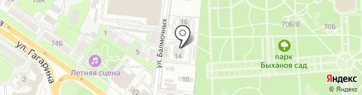 Стильное решение на карте Липецка