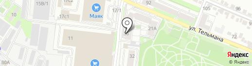 РД-Проект на карте Липецка