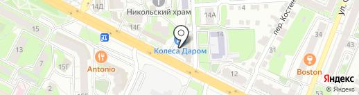 Car money на карте Липецка
