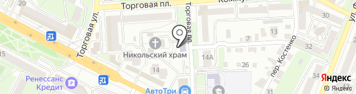 Воскресная школа им. протоиерея Иоанна Ракова на карте Липецка