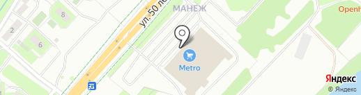 Элекснет на карте Липецка