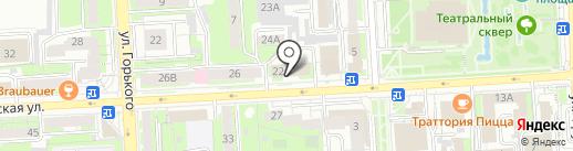 Счетная палата г. Липецка на карте Липецка