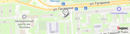 Зайди на карте Липецка