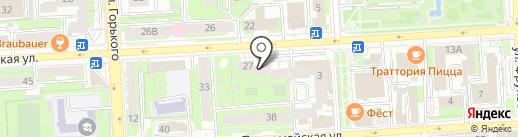 Фристайл на карте Липецка