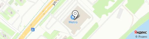 Банкомат, Липецккомбанк на карте Липецка