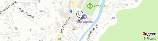 Оникс на карте Сочи