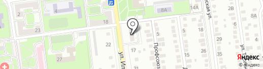 СУ-10 Липецкстрой на карте Липецка