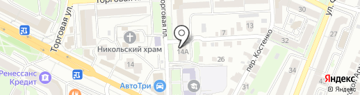 АВТОЗАПЧАСТЬ48 на карте Липецка
