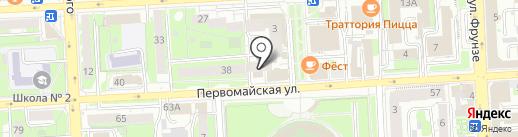 Адвокатский кабинет Резова С.Н. на карте Липецка