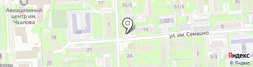 ЗАГС Советского округа на карте Липецка